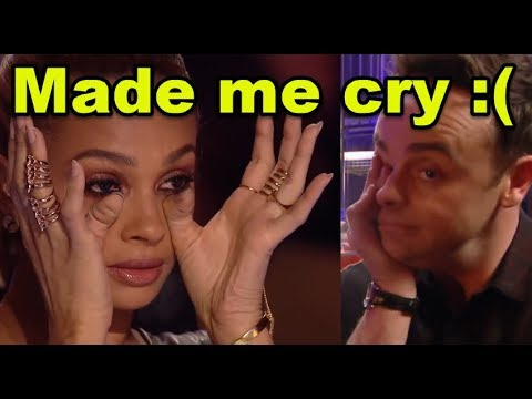 """Top 7 """"WOMAN CRYING"""" EMOTIONAL MOMENTS On Britain's Got Talent!"""