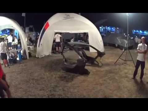 Вечерний live из бивуака Балхаш. Ремонт Стефана Петрансель (Peugeot).