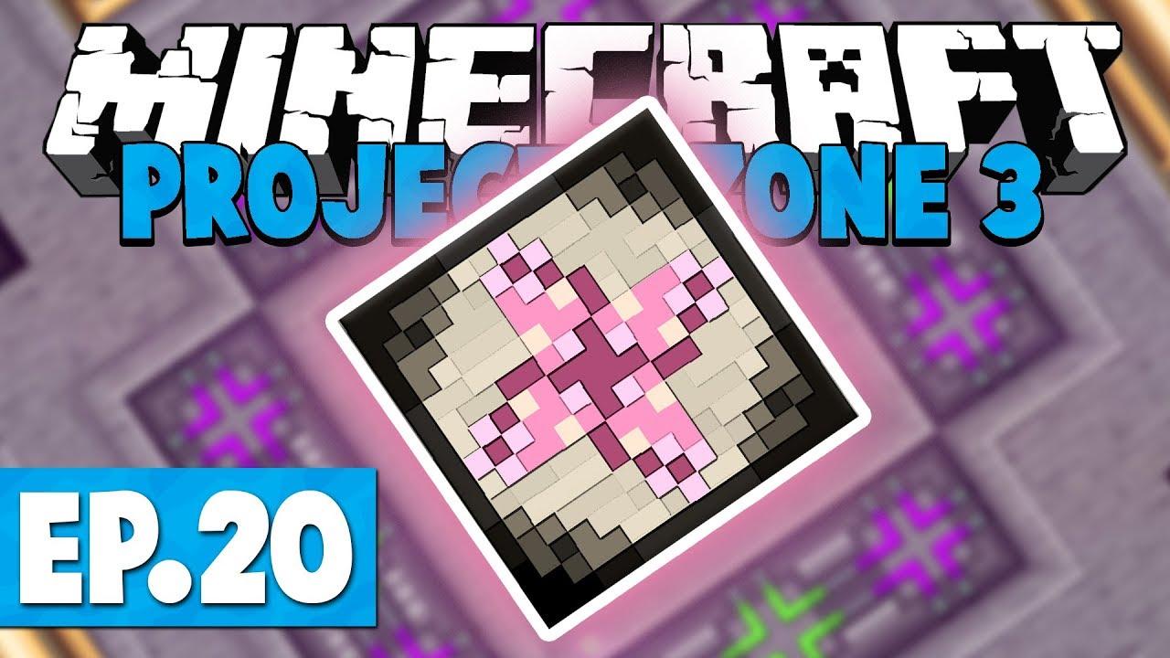 Minecraft Project Ozone 3 | TRANSMUTATION TABLET! #20 [Modded Skyblock]