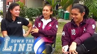 Down The Line: Nina Alvia chats with the UP Lady Maroons | The Rally | EP10