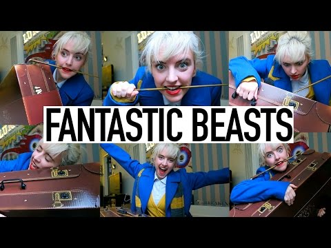 Fantastic Beasts Unboxing + Movie Review