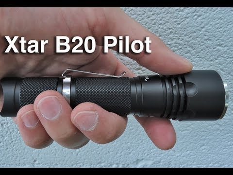 review xtar b20 pilot cree xml led 1000 lumen flashlight. Black Bedroom Furniture Sets. Home Design Ideas