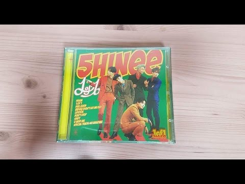 Unboxing SHINee 샤이니 5th Korean Studio Album 1 of 1