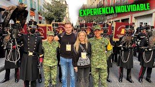 VIVIMOS el DESFILE MILITAR MEXICANO | RUSOS REACCIONAN a DESFILE MILITAR de MÉXICO CDEMX 2021