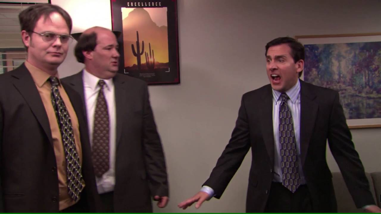 The Office Fire Drill Youtube
