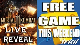 PS PLUS FREE GAME Limited Time - Mortal Kombat 11 Reveal Live! HOW to Respawn in Blackout NEW MODE