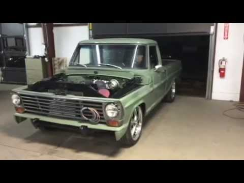 F 100 Coyote 5 0 Supercharger Youtube