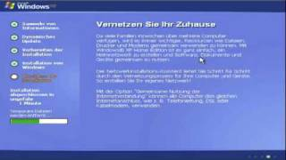 Windows Tutorial: Windows XP richtig installieren - Teil 2 (Deutsch)
