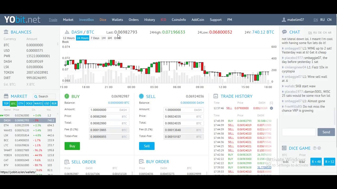 how to buy cryptocurrency with usd yobit