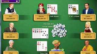 Hoyle Casino 1999 - Texas Hold 'Em (Game 2) (Part 1)