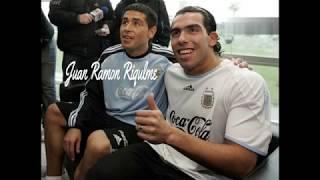 اجمل 10 اهداف لكبار كرة القدم للأرجنتيني خوان ريكلمي وكارلوس تيفيز HD