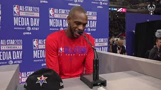 The game has grown, and I had to grow my game with it - Khris Middleton Press Conference | 2.15.20