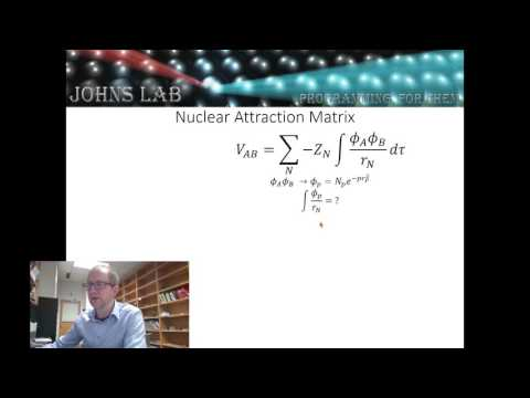 Hartree Fock Video 4.1:  Overview of Coulomb Integeral w/ Gaussian Basis Set