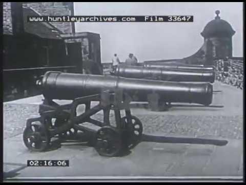 Edinburgh Scotland, 1930s - Film 33647