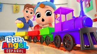 El Bebé Aprende los Colores   Las Ruedas del Autobús