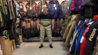 Видеообзор мембранных вейдерсов Norfin Whitewater