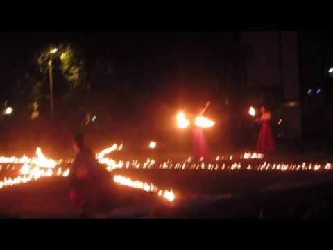 Art du feu pour fêté notre Patriarche....Fête à Voltaire 2017....