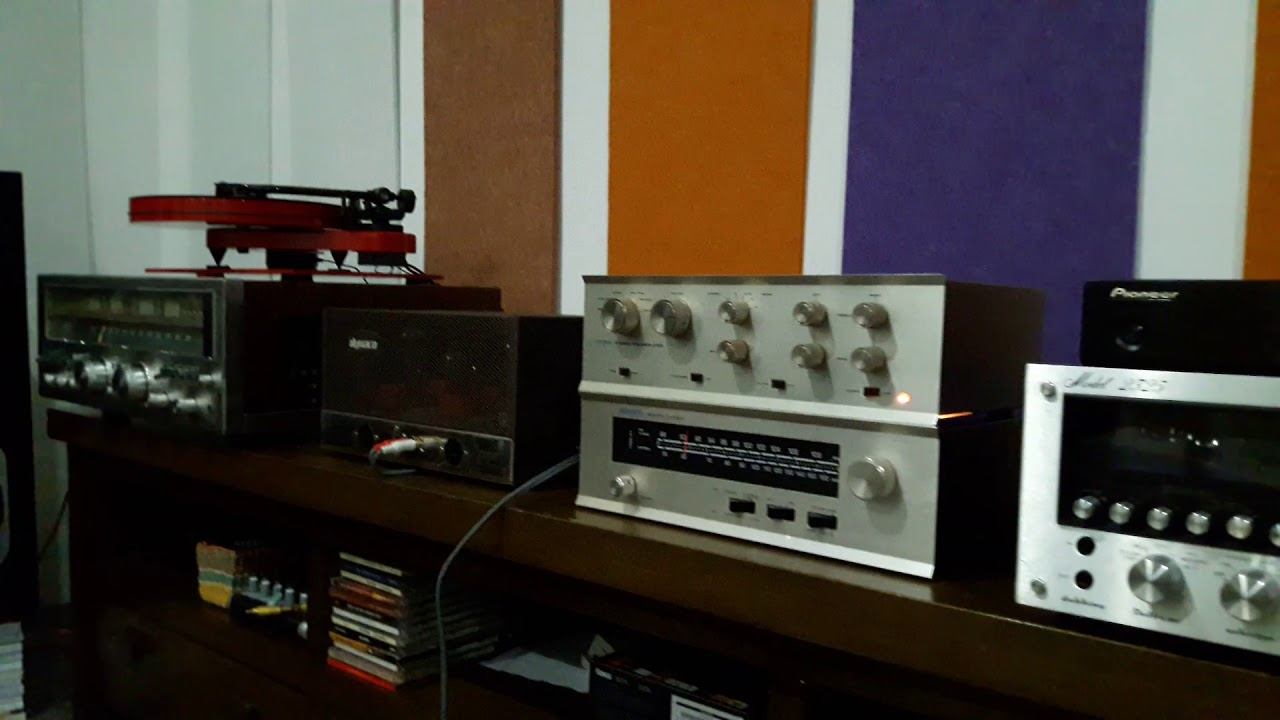 Using Dynaco ST-150, Pas 3X and Pioneer CS R700