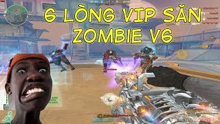 Bình Luận CF : Thử Thách 6 Lòng VIP Săn Zombie V6 ĐỘT KÍCH