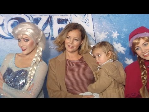 "Bijou Phillips with daughter Fianna ""Disney On Ice Presents FROZEN"" Premiere"