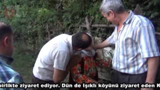 Türkeli Kaymakamı Salih KALKAN yardıma muhtaç vatandaşları ailesi ile birlikte ziyaret ediyor