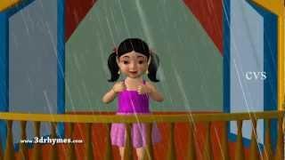 3D Animation I Hear Thunder Nursery Rhyme for Children with Lyrics