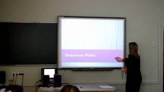 Урок англійської мови  5 клас