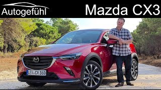 Mazda CX3 FULL REVIEW Facelift 2019 CX-3 test - Autogefühl