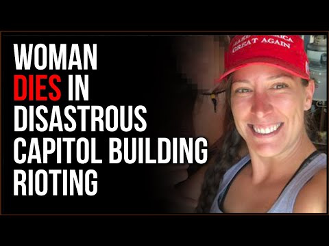 Woman DIES In Disastrous Washington, DC Rioting As Protesters Storm Capitol Building