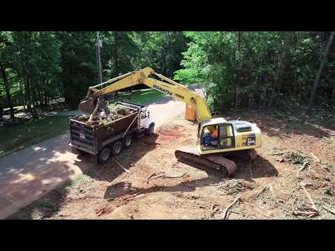 LTS Construction of Huntland TN land clearing project 6