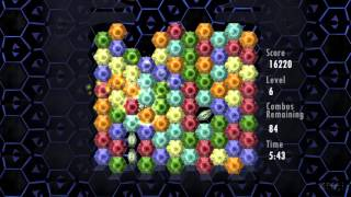 Random Play Of Hexic 2 On Xbox 360 - Timed Mode