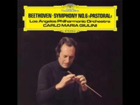 "Beethoven ""Symphony No. 6"" Carlo Maria Giulini"