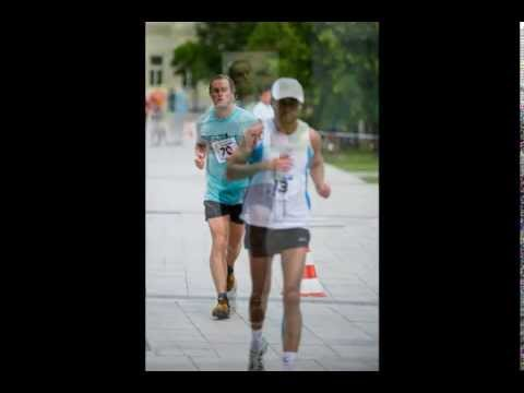 Half Marathon in Martin, Slovakia: New fruity friends, Running with celebrity