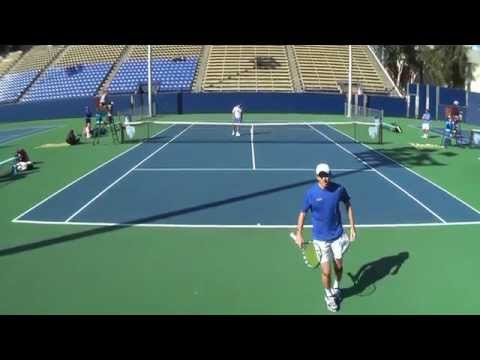 03 03 2015 UCLA Vs Tulsa men's #2 singles 1080 AVCHD