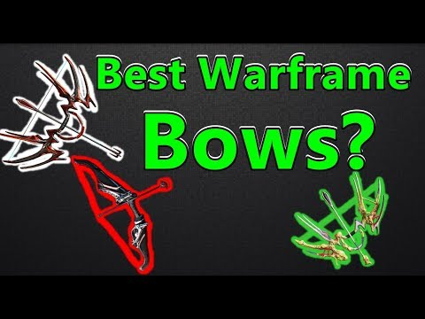 ULTIMATE Bow Comparison Video (Almost) ALL Bows! (Warframe)