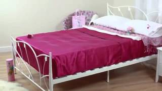 Bedkingdom Sweet Dreams Leaf Bed Frame