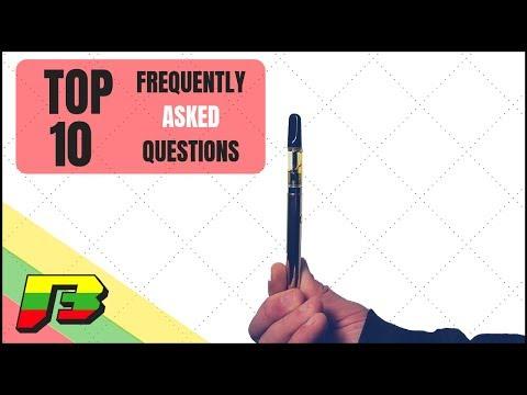 10 FAQ's about Dab Pens | BammerTV