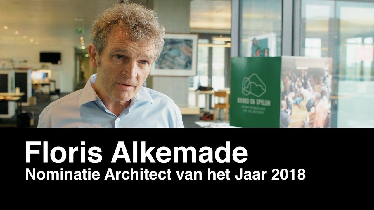 Architectenweb – Architect van het Jaar verkiezing 2018 – Floris Alkemade