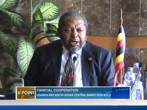 Uganda and South Sudan central banks sign M.O.U.