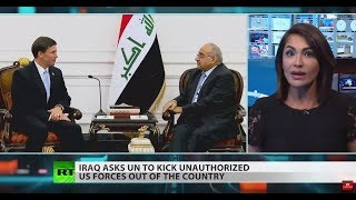 FULL SHOW: Iraq asks UN to boot out US forces
