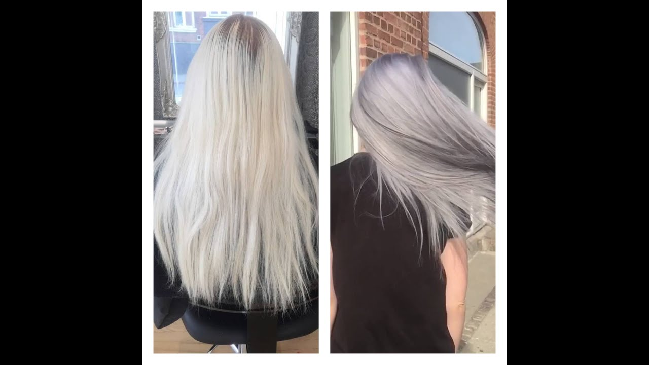 From Blond To Granny Grey With Olaplex And Goldwell