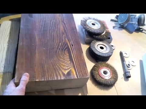 Станок для браширования древесины своими руками