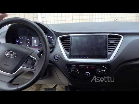 Asottu Android 9.0 PX30 Car Dvd For Hyundai Verna 2017 2018