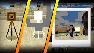 Hidden feature in 1.13.0.1: WORKING CAMERAS. (Weird Behaviors) - Minecraft PE