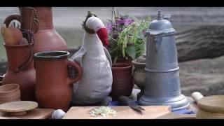 5 Средневековая кухня Англии. Маринованная запеченная свинина «Способы приготовления еды» 1390г.