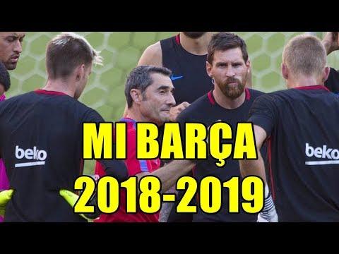 MI BARÇA 2018/2019. FICHAJES, TRASPASOS Y MOTIVOS DE LOS MISMOS