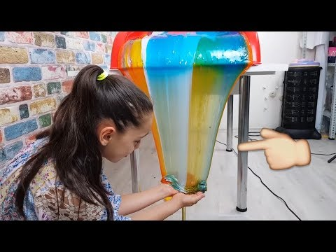 Transformation from Colorful Slime Waterfall to Perfect Slime Soup !!