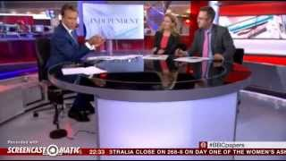 BBC News Channel Camera Falls Apart on the air