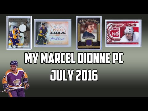 Personal Hockey Card Collection #5: Marcel Dionne