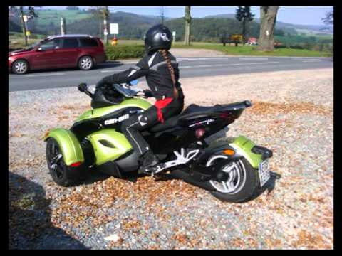 brp bombardier can am spyder roadster motorcycle youtube. Black Bedroom Furniture Sets. Home Design Ideas